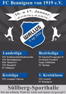 Plakat Wallus Cup 2016